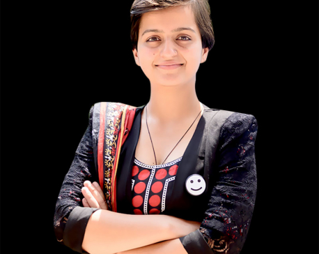 Bibeksheel to field Ranju Darshana for Kathmandu mayor