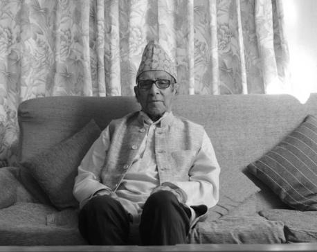Nepal's National Poet Madhav Ghimire dies at age of 101