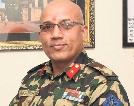 Army has new spokesman