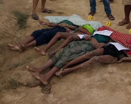 Four girls drown  in Rautahat