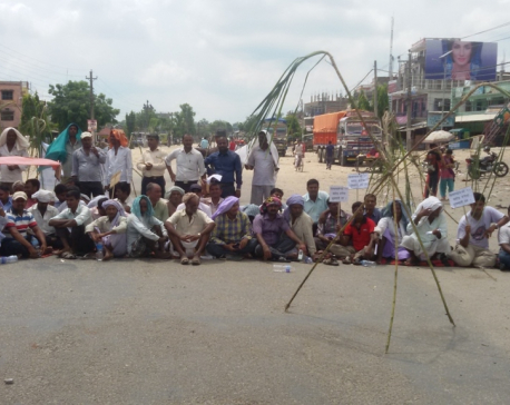 Sugarcane farmers block East-West Highway demanding to clear due
