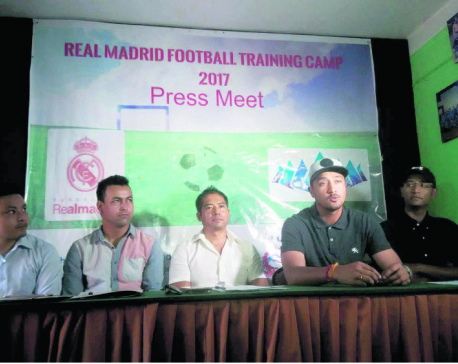 Real Madrid coaching team coming to Kathmandu