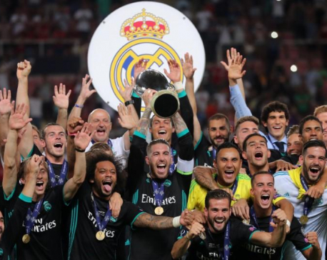 Classy Real see off United to win European Super Cup