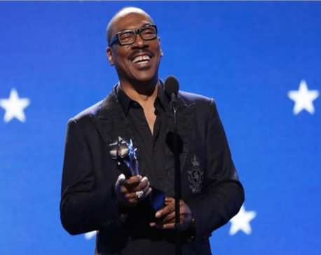 Eddie Murphy recalls acting career as he receives lifetime achievement award