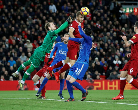 Salah fires Liverpool to victory, Chelsea close gap at top