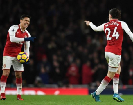 Bellerin earns Arsenal 2-2 draw in Chelsea derby classic