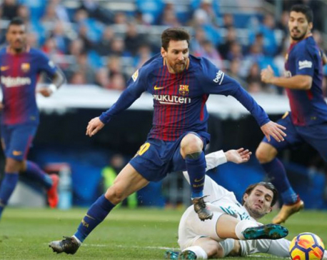Barcelona pile more misery on Real Madrid with 3-0 'Clasico' win