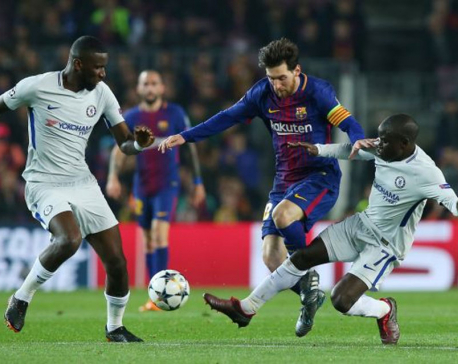 Messi majestic as Barcelona crush Chelsea