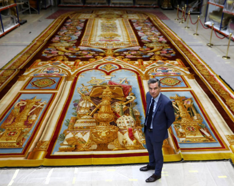 Treasured Notre-Dame tapestry restored after blaze