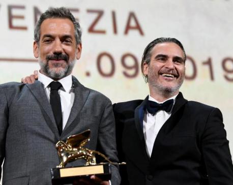 'Joker' wins Golden Lion at Venice, Polanski drama is runner-up