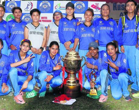 Rising Cricket Women lifts Attariya Cup