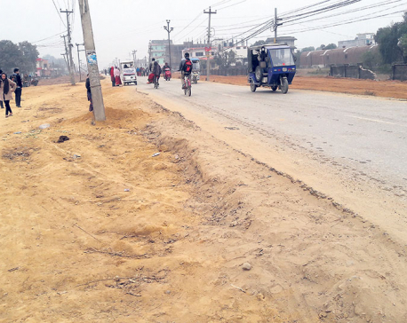 Road construction moving at snail's pace