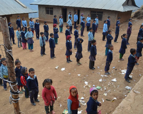 Only 42 out of 681 students clear 8 grade exams in Rolpa