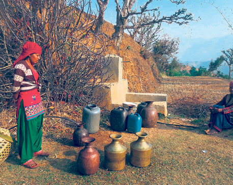 Rolpa's water woes 'disappointing' voters