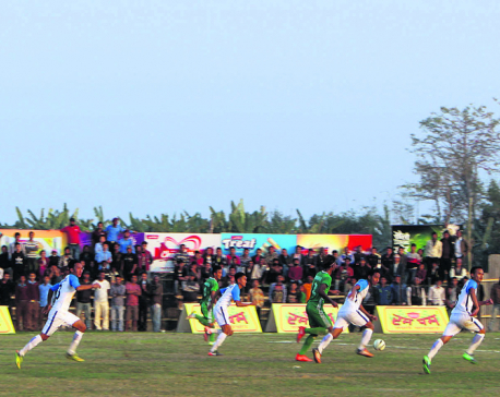 Rupandehi edges Jhapa in sudden death