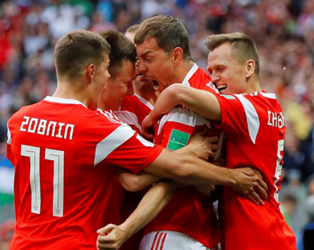 Host Russia keeps the World Cup legacy, thrashes Saudi 5-0