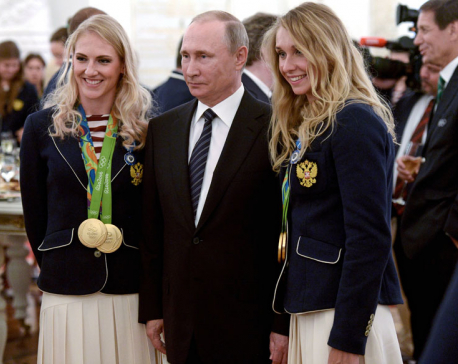 Russian Olympic medalist gets BMW as gift, tries to sell it online, sparks controversy