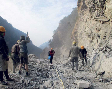 Progress in road construction elates northern Gorkha residents