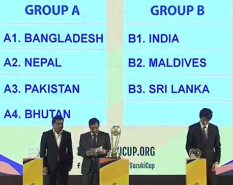 SAFF Championship draw revealed