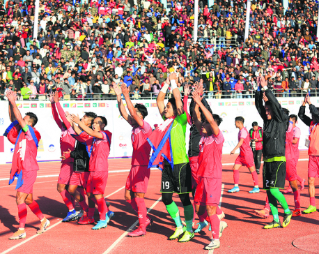 Nepal one step away from final