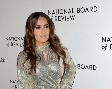 Salma Hayek says daughter Valentina may follow in her acting footsteps