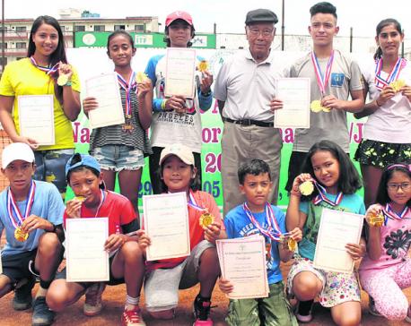 Samrakshyak, Prerana clinch tennis titles