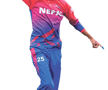 Sandeep Lamichhane and four others nominated for People's Choice Award