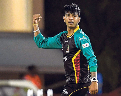 Sandeep continues to shine in CPL
