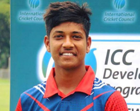 Cricketer Lamichhane tests positive for COVID-19