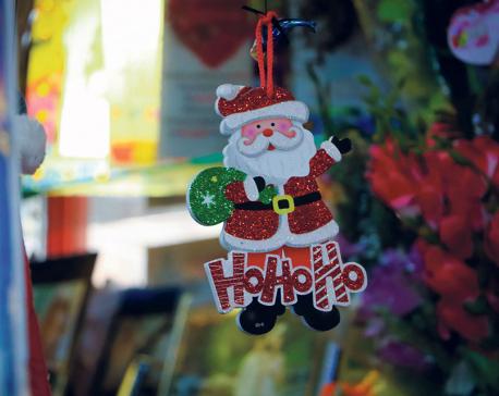 Christmas fever grips Kathmanduities