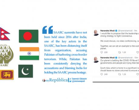 Will Modi's tweets help revive SAARC?