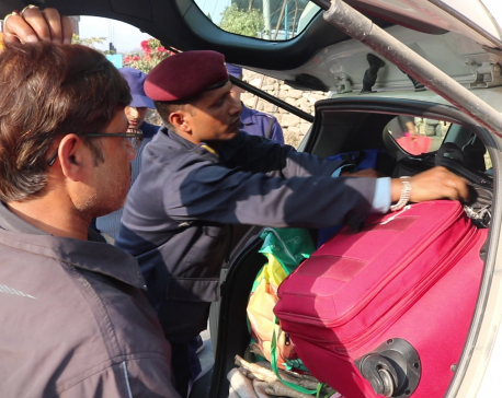 Police tighten security check in highways