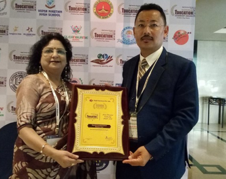 Best international school in Nepal in Asian Leadership Awards 2019