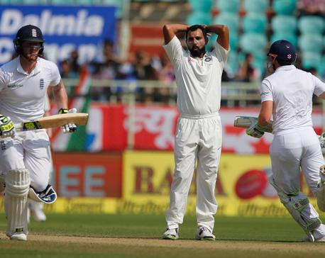 Pakistan 50-1 at tea on day 3, 1st test vs. New Zealand