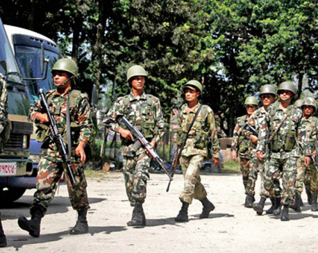 Proposal to deploy Nepal Army for local polls awaits President's approval