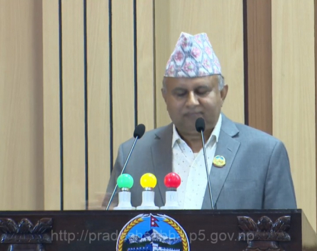 Dang connects 'zonal psychology' as Province 5 capital: CM Pokharel