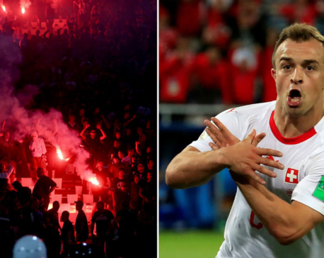 Shaqiri will face 'unbelievable pressure' on Belgrade Champions League trip – club director