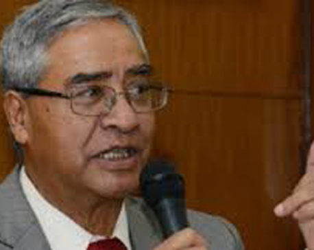 NC president Deuba accuses govt of trying to impose totalitarianism under the guise of democracy