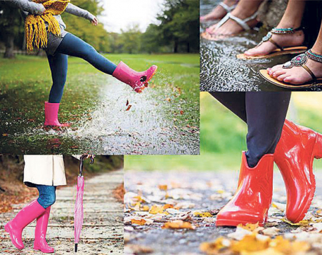 Don't let your shoes lose their sheen this Monsoon