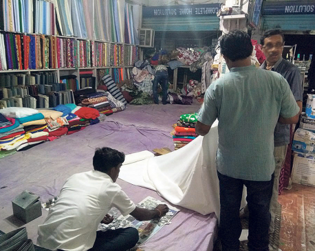 Shops in flood-hit Rautahat back in business