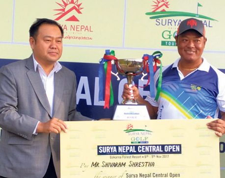 Shrestha becomes Surya Nepal Golf Champion