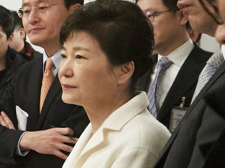 Ex-South Korean leader Park indicted, faces trial