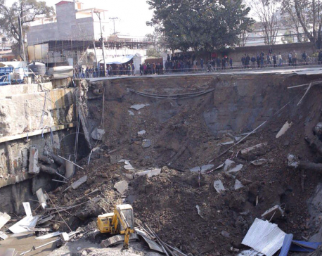 CIAA inspects under construction Naxal-based Hilton Hotel