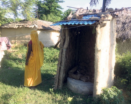 Siraha declared ODF zone despite many houses lacking toilets