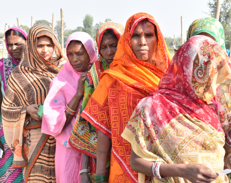 Women in Siraha excited to vote