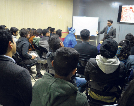 First session of skill share concludes