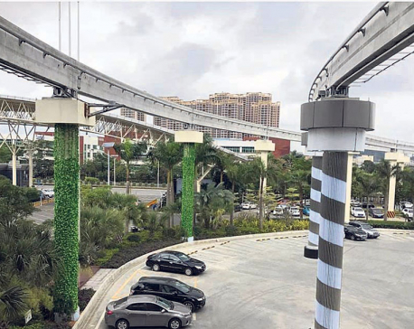 Pre-feasibility report on sky-rail presented to KMC