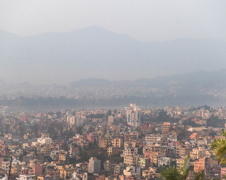 Early morning smog
