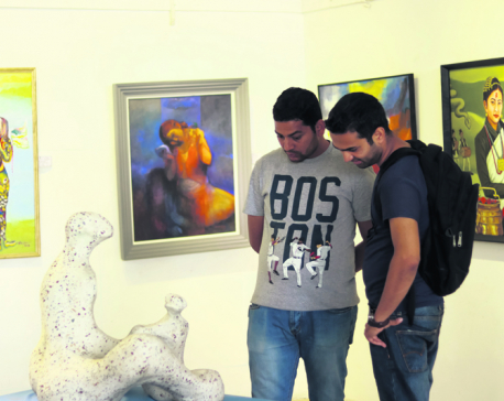 Seventh National Fine Art Exhibition: Widening scope of arts