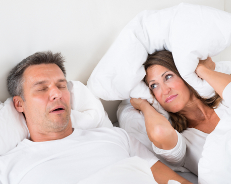 Lifestyle changes to prevent snoring